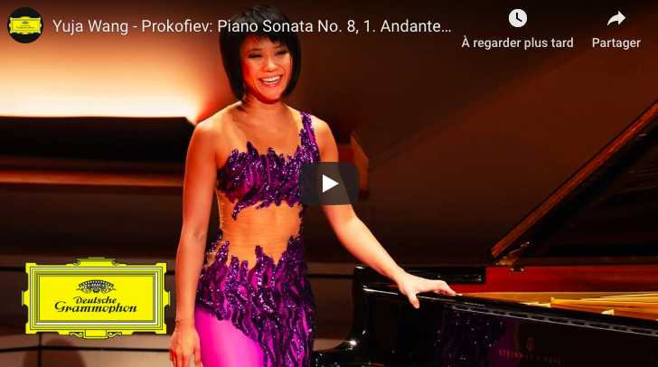 Prokofiev - Sonata No 8 in B-Flat Major - Yuja Wang, Piano