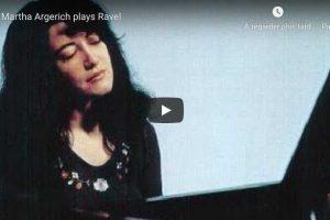 Ravel – Sonatine – Argerich, Piano