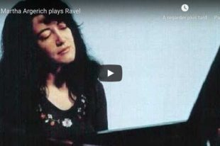 Ravel - Sonatine - Martha Argerich, Piano