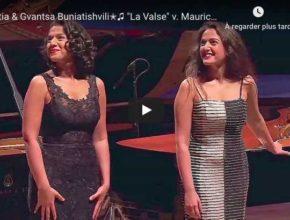 Ravel - La Valse - Khatia and Gvantsa Buniatishvili, Piano