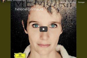 Satie – Gnossienne No. 1 – Hélène Grimaud, Piano