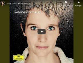 Satie - Gnossienne No 4 - Hélène Grimaud, Piano