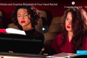 Schubert – Fantasia in F Minor – Khatia and Gvantsa Buniatishvili, Piano