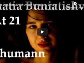 Schumann - Fantasie in C Major - Khatia Buniatishvili, Piano