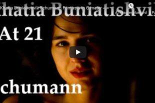 Schumann - Fantasie - Khatia Buniatishvili, Piano