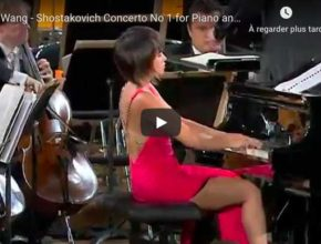 Shostakovich - Concerto No 1 for Piano and Trumpet - Yuja Wang, Piano