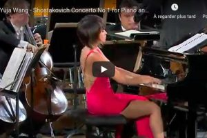 Shostakovich – Concerto for Piano and Trumpet – Wang, Piano