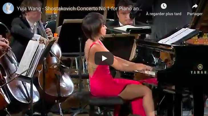 Shostakovich - Concerto No 1 for Piano and Trumpet - Yuja Wang, Piano