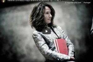Brahms – Rhapsody No. 1 – Grimaud, Piano