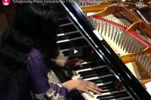 Tchaikovsky – Piano Concerto No. 1 – Martha Argerich