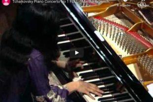 Tchaikovsky - Piano Concerto No. 1 - Martha Argerich