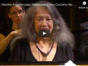 Martha Argerich plays Beethoven's Piano Concerto No. 1 in C Major Op. 15