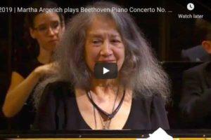 Beethoven – Piano Concerto No. 1 – Martha Argerich