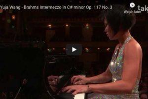 Brahms – Intermezzo Op. 117 No. 3 – Wang, Piano