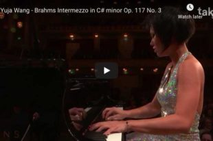Brahms - Intermezzo Op. 117 No. 3 - Wang, Piano