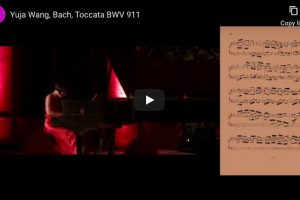 Bach – Toccata in C Minor – Yuja Wang