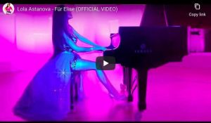Ludwig van Beethoven - Für Elise in A Minor - Lola Astanova, Piano