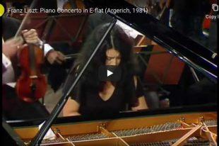 Liszt - Piano Concerto No. 1 - Martha Argerich