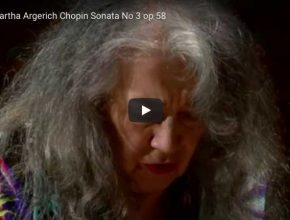 Chopin - Piano Sonata No. 3 in B Minor - Martha Argerich