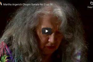 Chopin – Piano Sonata No. 3 – Martha Argerich