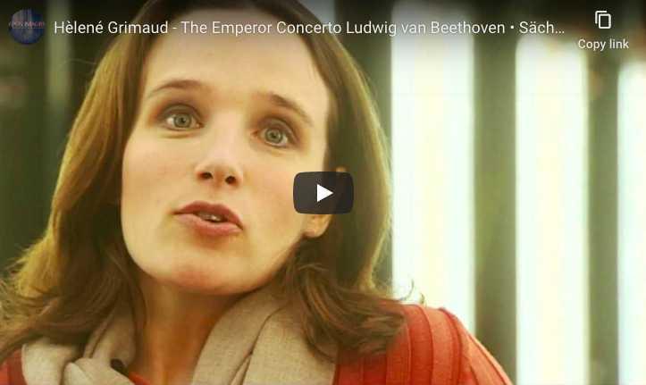 Beethoven - Emperor Concerto (No. 5) in E-Flat Major - Hélène Grimaud, Piano