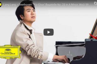 For Elise - Beethoven - Lang Lang, Piano