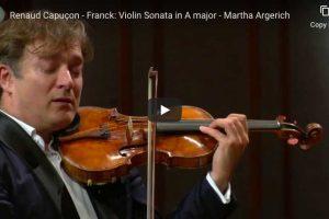 Franck – Violin Sonata – Renaud Capuçon, Martha Argerich