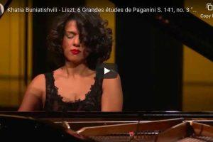 Liszt – La Campanella – Khatia Buniatishvili, Piano