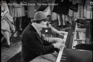 Marx Brothers- Chico and Harpo Piano Duet (The Big Store)