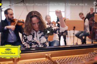 Mozart - Concerto No. 20 (Rondo) - Grimaud, Piano