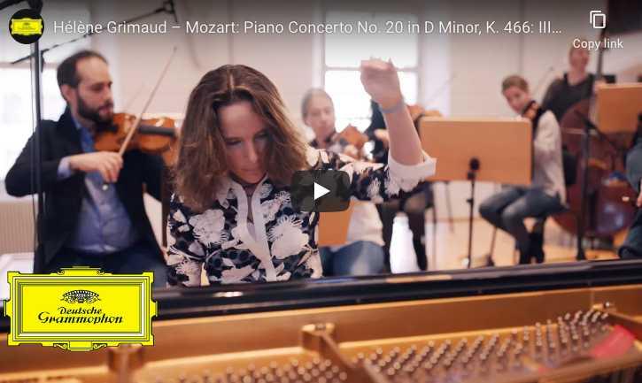 Mozart, Piano Concerto No. 20 in D Minor - Hélène Grimaud