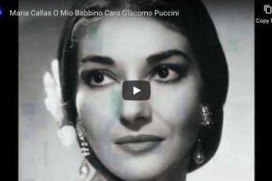 Puccini – O Mio Babbino Caro – Maria Callas
