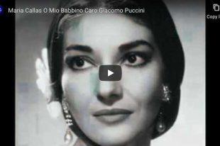 Puccini - O Mio Babbino Caro - Maria Callas
