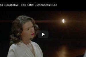 Satie – Gymnopédie No. 1 – Khatia Buniatishvili, Piano