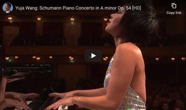 Schumann - Piano Concerto in A Minor - Yuja Wang