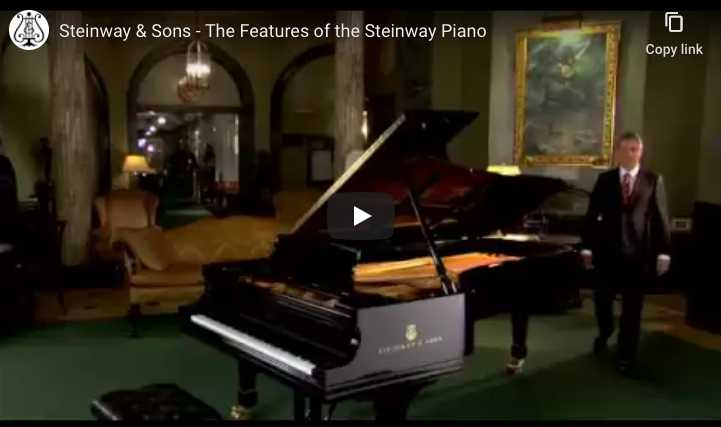 What are the features of a Steinway piano?