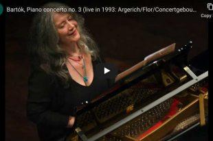 Bartok - Piano Concerto No. 3 - Martha Argerich