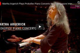 Prokofiev - Piano Concerto No. 3 - Martha Argerich