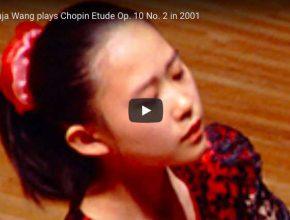 Chopin - Étude Op. 10 No. 2 - Wang, Piano
