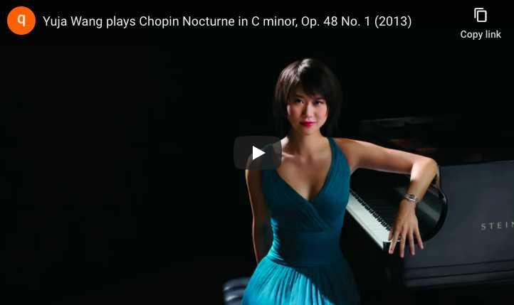 Yuja Wang plays Chopin's Nocturne No. 13 in C Minor - Yuja Wang, Piano