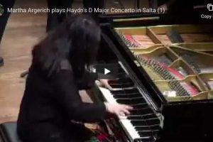 Haydn – Piano Concerto No. 11 – Martha Argerich