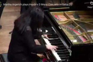 Haydn - Piano Concerto No. 11 - Martha Argerich
