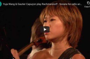 Rachmaninoff - Sonata for Cello and Piano - Wang; Capuçon