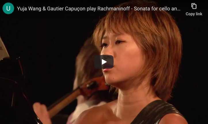 Rachmaninoff - Sonata for Cello & Piano in G Minor - Capuçon Cello, Wang Piano