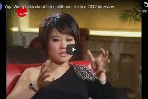 Yuja Wang Talks about her Childhood… and More
