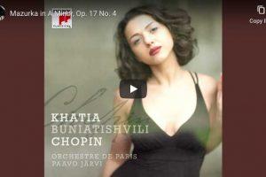Chopin – Mazurka Op. 17 No. 4 – Buniatishvili, Piano