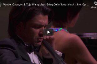 Grieg - Cello Sonata - Capuçon, Cello; Wang, Piano