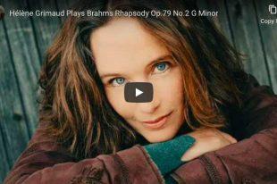 Brahms - Rhapsody No. 2 - Hélène Grimaud, Piano
