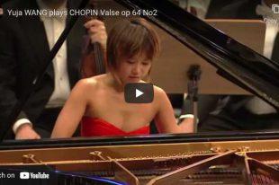 Chopin - Waltz No. 7 - Yuja Wang, Piano