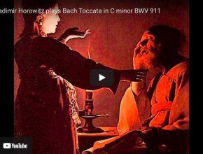 Bach - Toccata in C Minor BWV 911 - Vladimir Horowitz, Piano